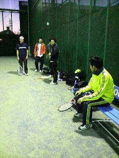 大学OB新年テニス会