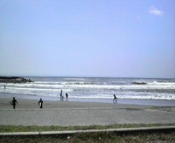 波でかっ♪